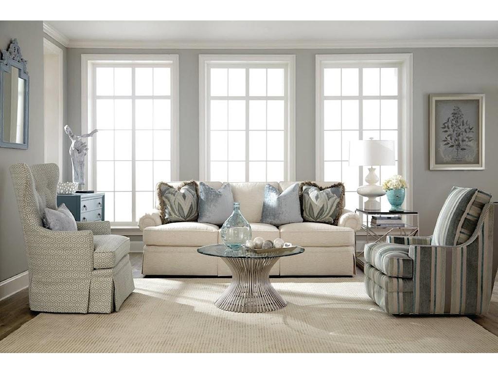 Huntington House 3392Traditional Swivel Chair