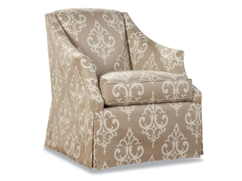 Geoffrey Alexander 3399Skirted Chair