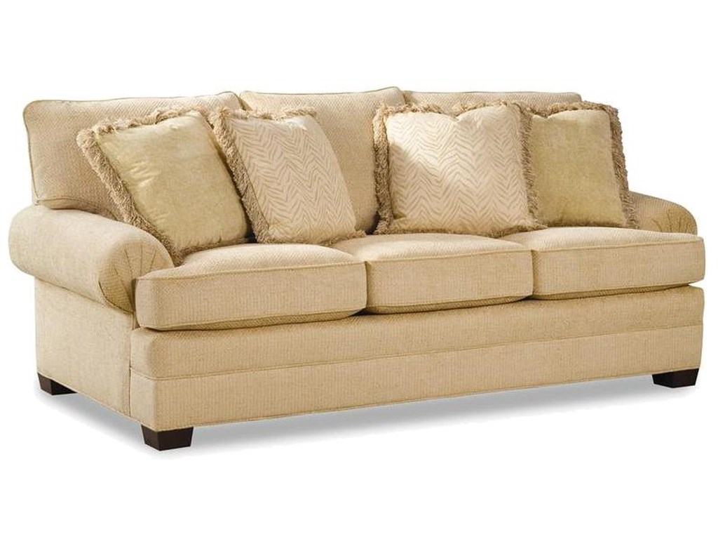 Huntington House 2061Upholstered Sofa with Low Profile Arms