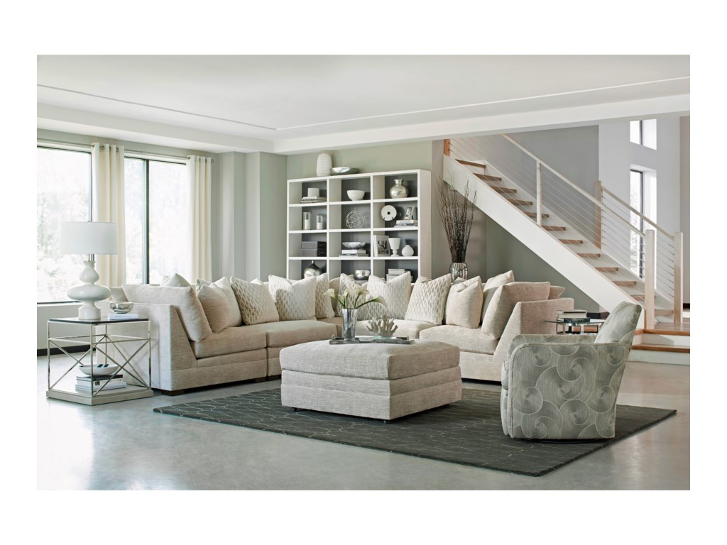 Huntington House 71005 Pc Sectional Sofa