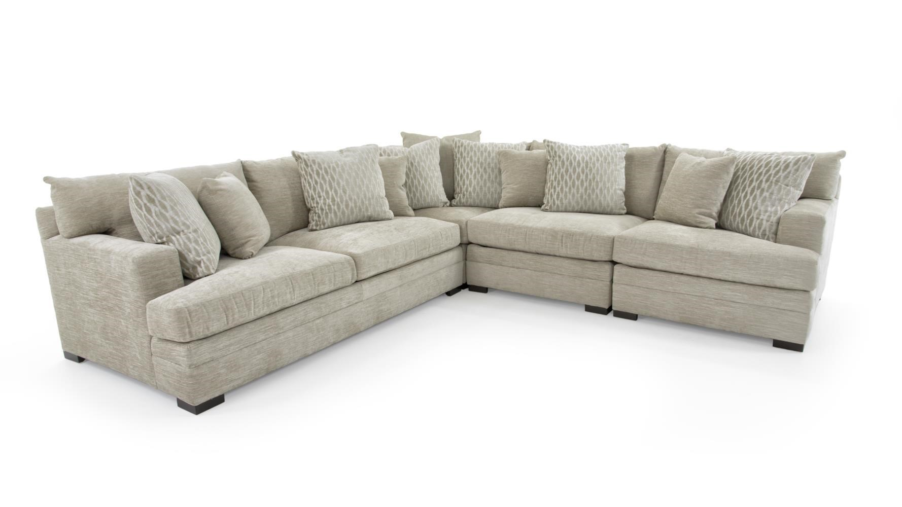 Exceptional Huntington House 71004 Pc Sectional Sofa ...