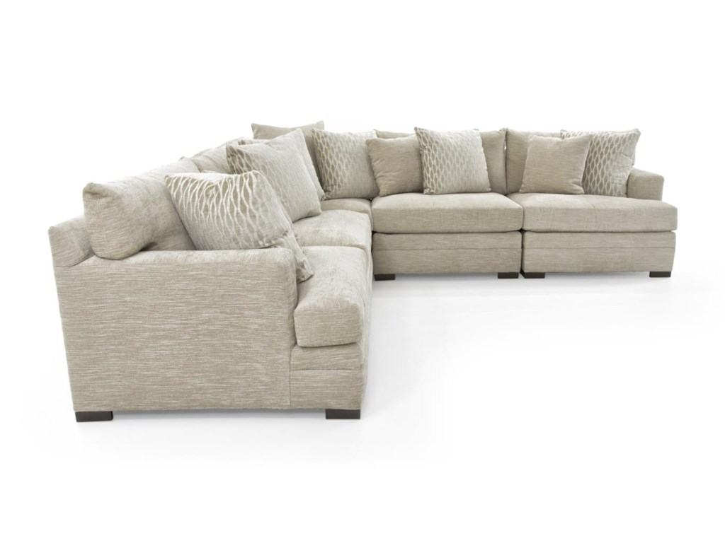 Huntington House 71004 Pc Sectional Sofa