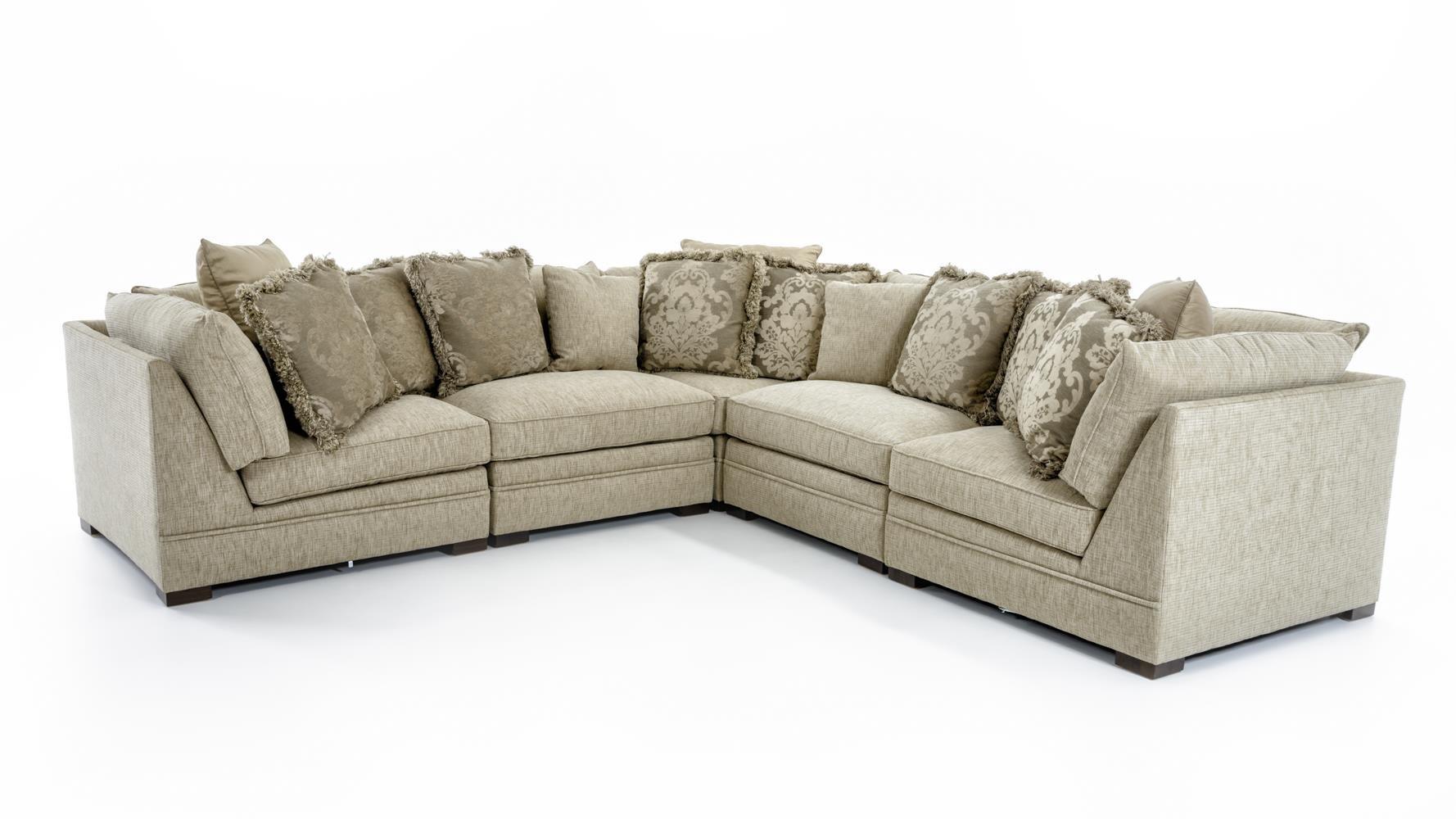 Huntington House 71005 Piece Corner Sectional Sofa ...