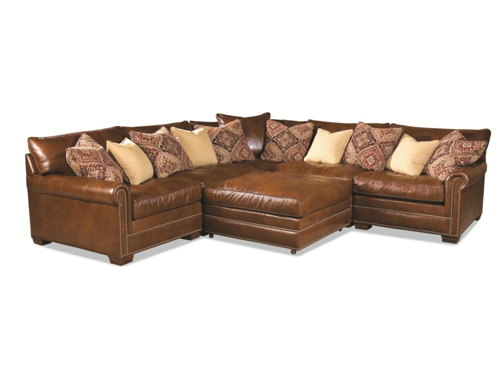 Huntington House 7107Sectional