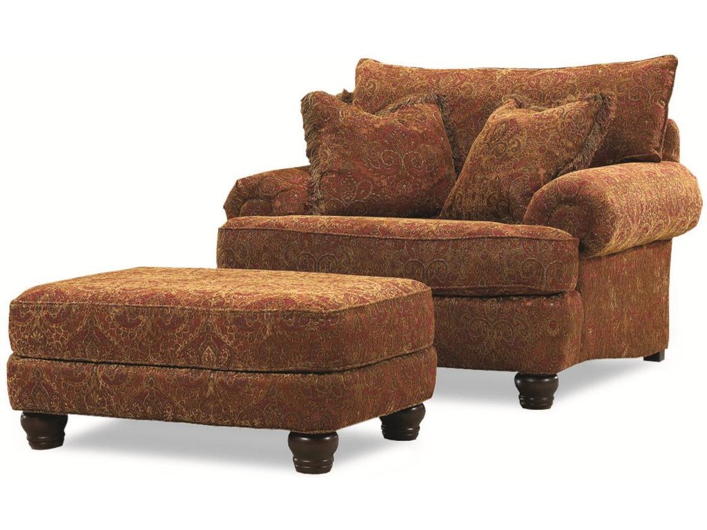 Huntington House 2081Resting Chair & Ottoman