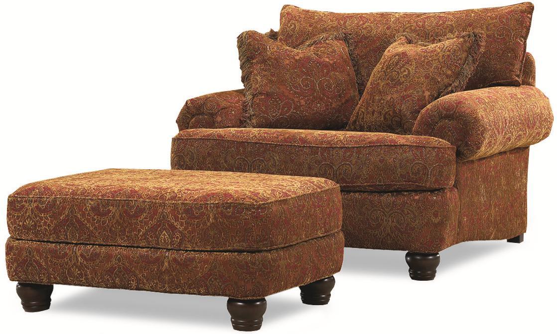 Huntington House 2081Resting Chair U0026 Ottoman ...