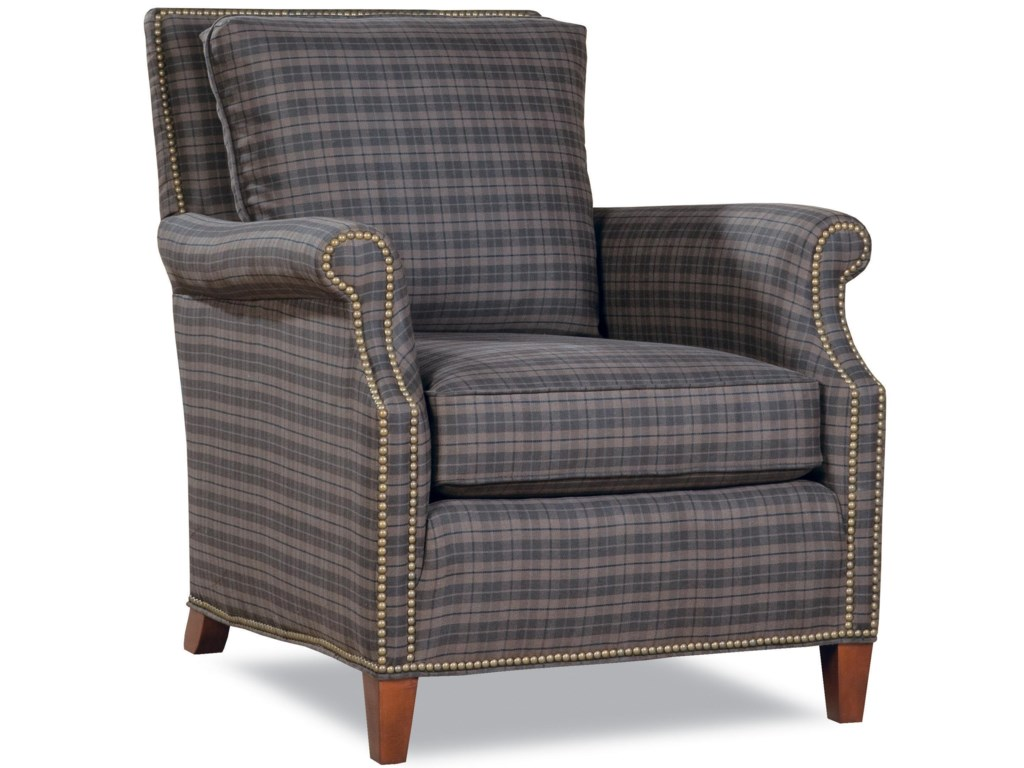 Huntington House 7121 GavinRolled Arm Chair