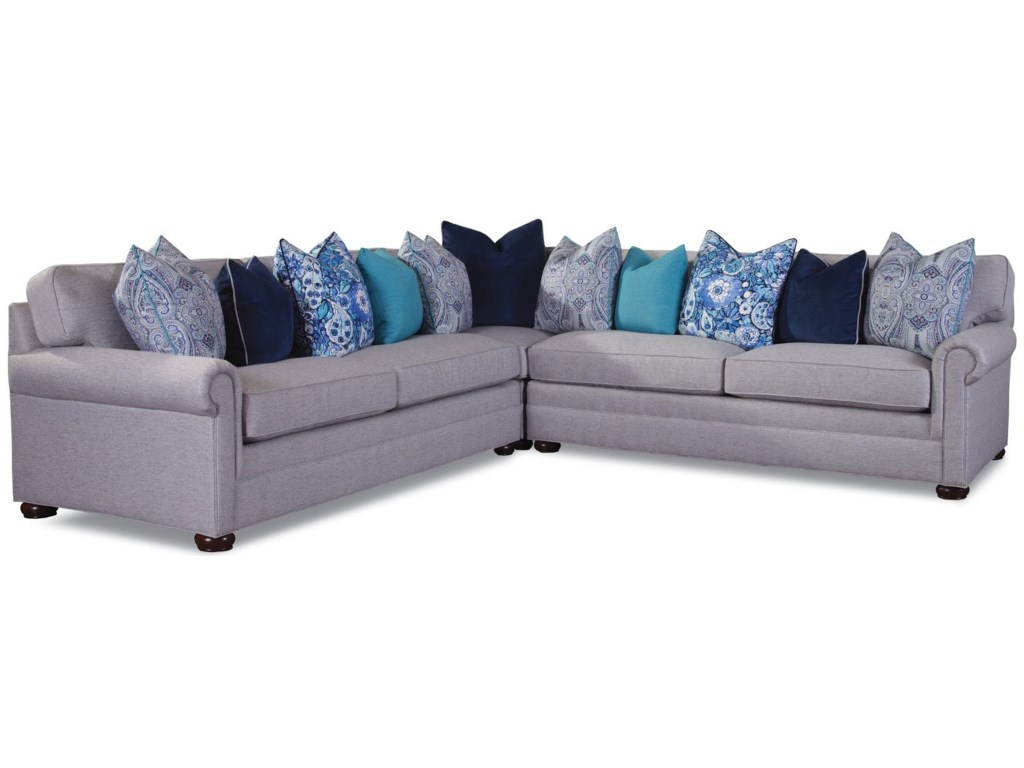 Huntington House 7169Sectional