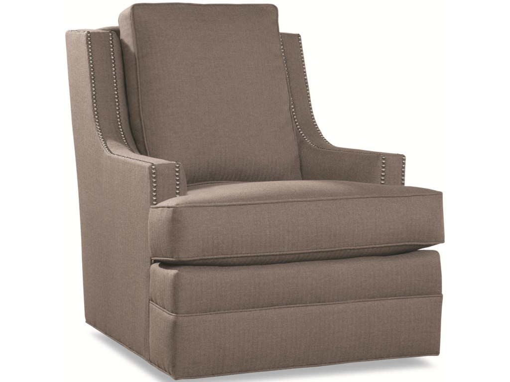 Geoffrey Alexander 7202Chair with Scooped Arms