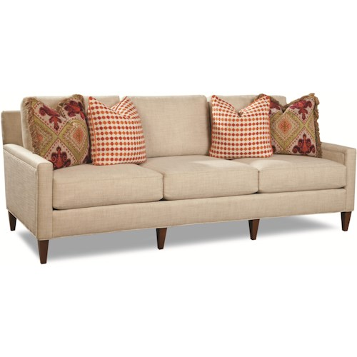 Geoffrey Alexander 7209 Contemporary Sofa with Tapered Feet