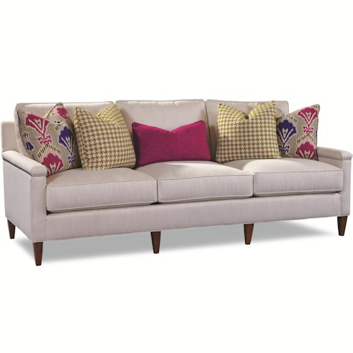 Huntington House 7216 Contemporary Sofa with Track Arms