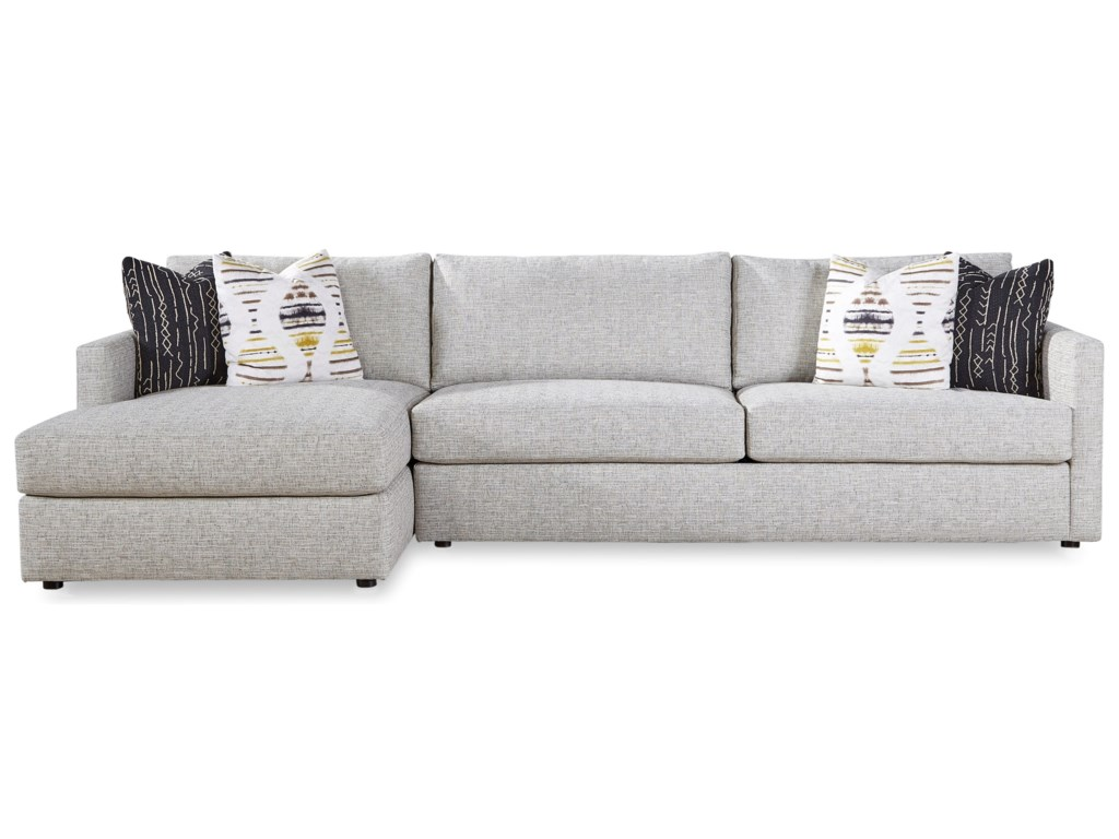Huntington House 7284Sofa Chaise