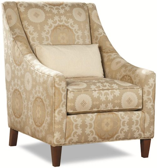 Huntington House 7335 Chair with Sloping Track Arms