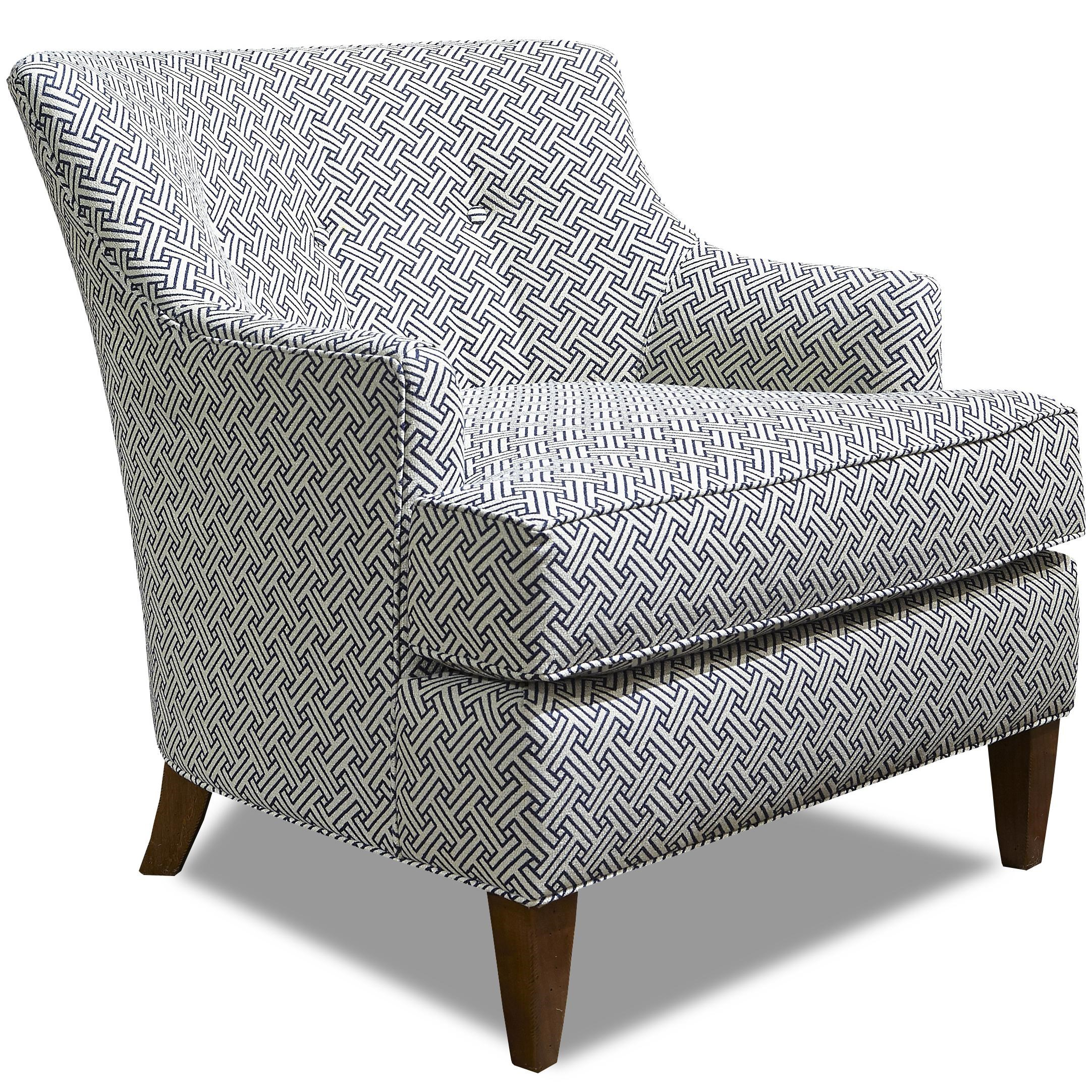 Traditional Chair with Tapered Feet