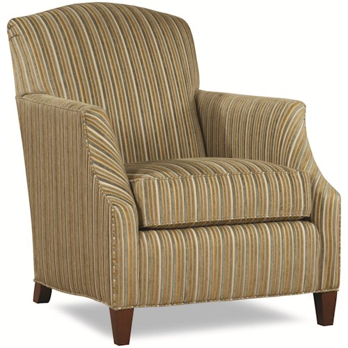 Geoffrey Alexander 7415 Upholstered Arm Chair