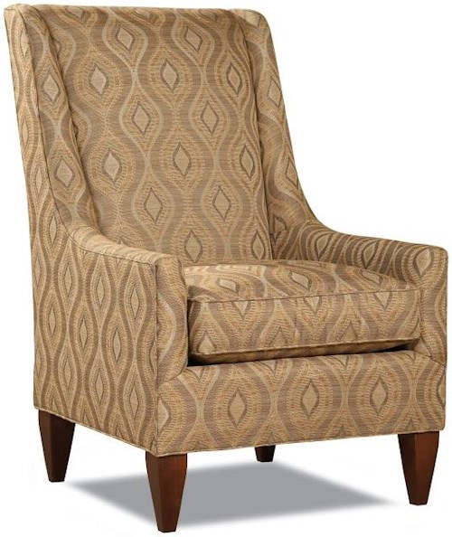 Huntington House 7431 Upholstered Chair with Track Arms
