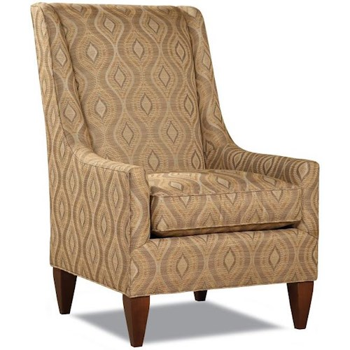 Geoffrey Alexander 7431 Upholstered Chair with Track Arms