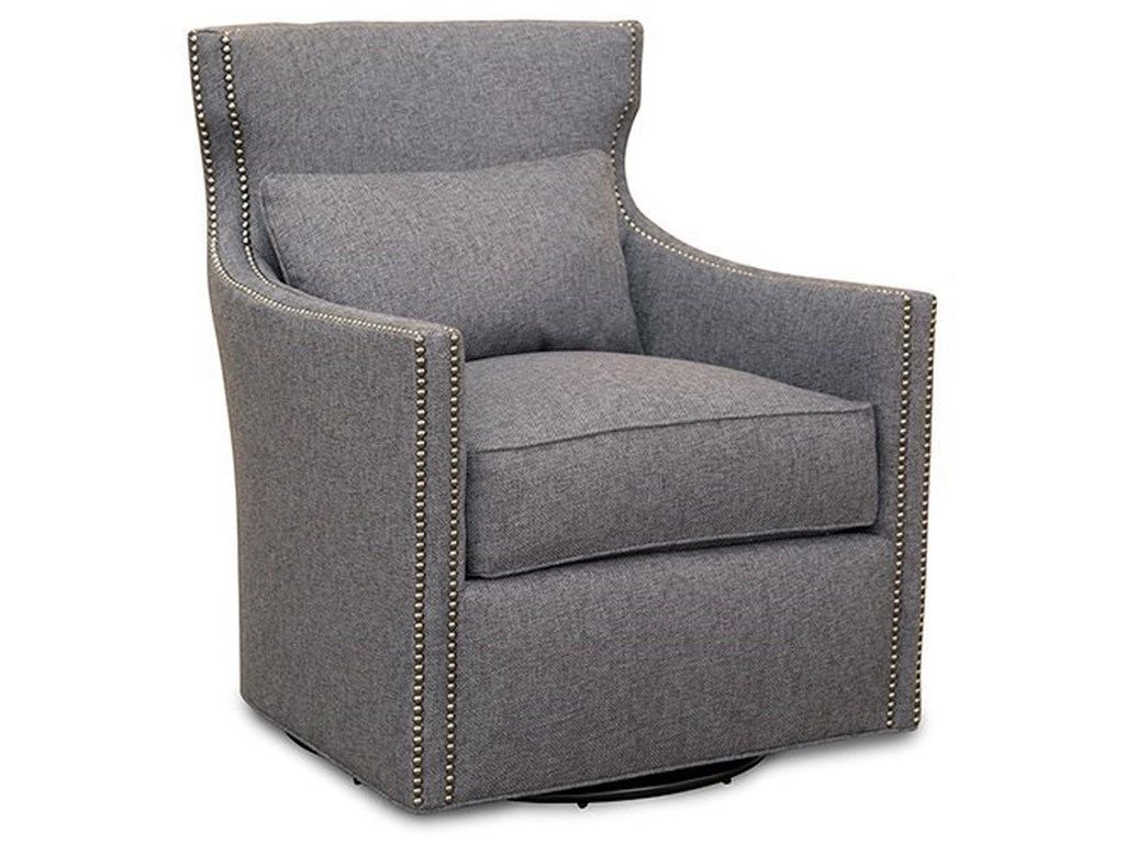 Huntington House 7451Swivel Upholstered Chair
