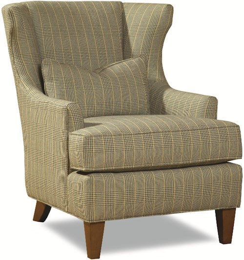 Huntington House 7459 Traditional Wing Back Chair