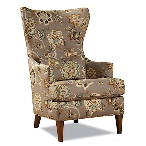 Huntington House 7460 Kiernan Transitional Wing Chair