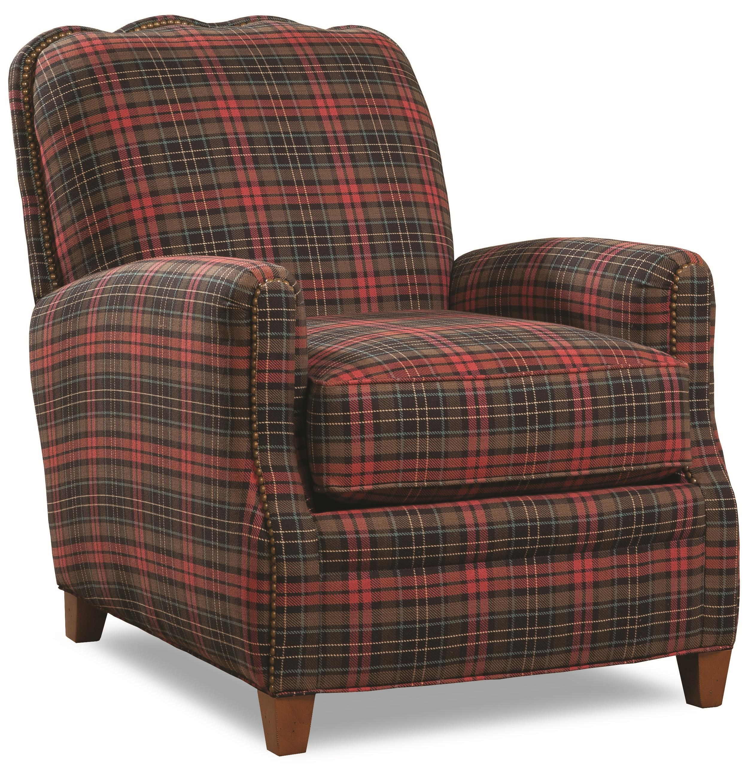 Traditional Stationary Chair with Nailhead Trim