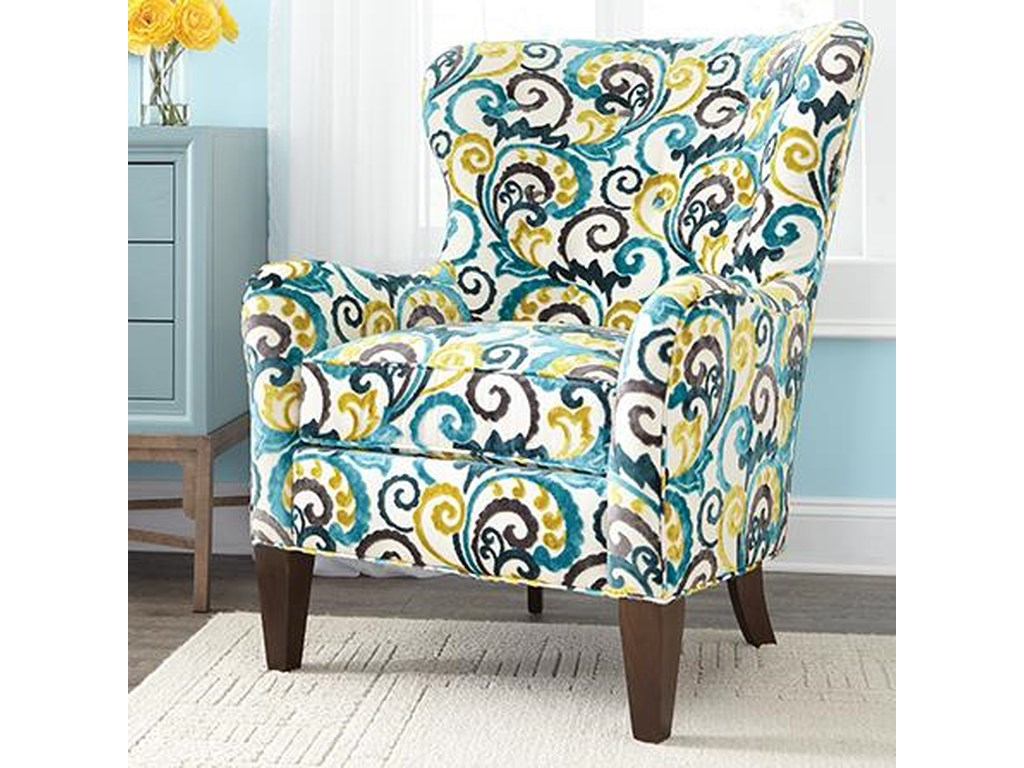 Geoffrey Alexander 7475Wingback Accent Chair