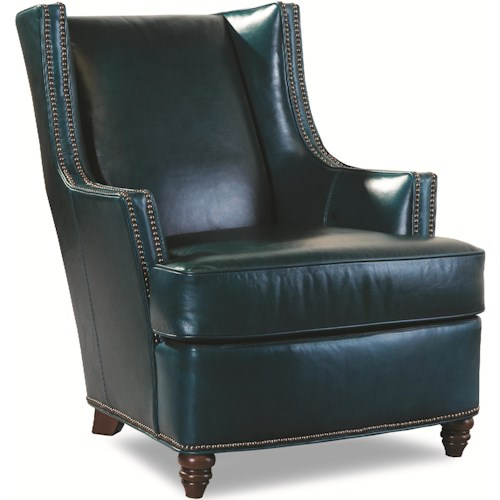 Geoffrey Alexander 7499 Traditional Chair with Nail Head Trim