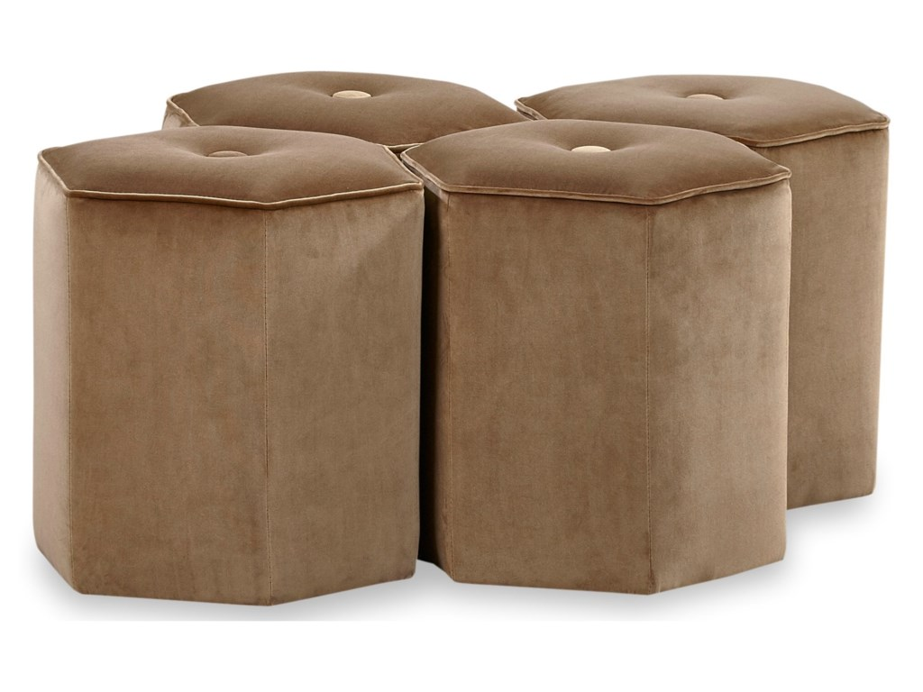 Huntington House 7754Bunching Ottoman