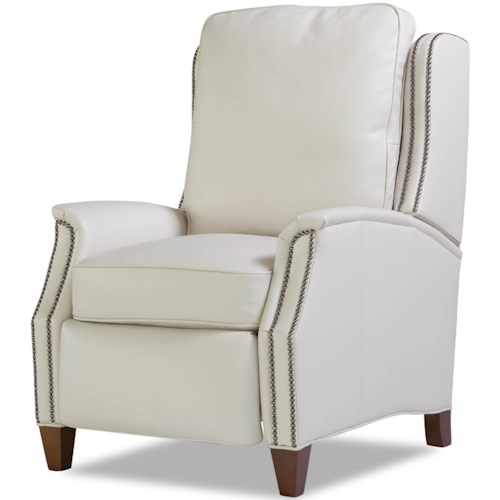 Huntington House 8119 Transitional Power Recliner with Nailhead Trim