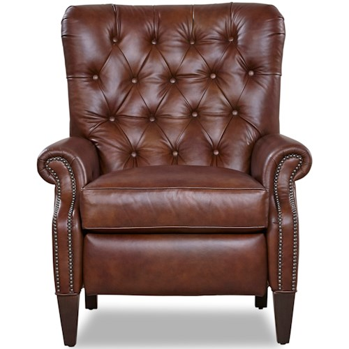 Geoffrey Alexander 8121 Traditional Power Recliner with Button Tufting