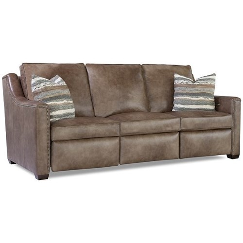 Geoffrey Alexander 8200 Contemporary Power Reclining Sofa