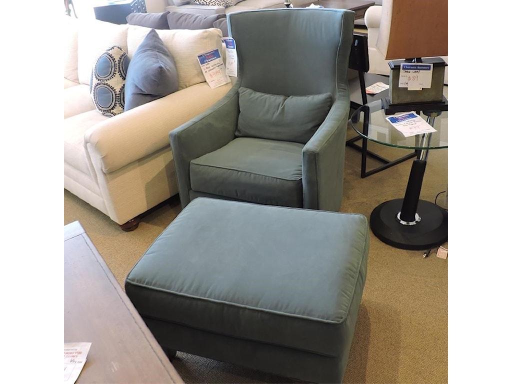 Huntington House clearanceSwivel Chair & Ottoman