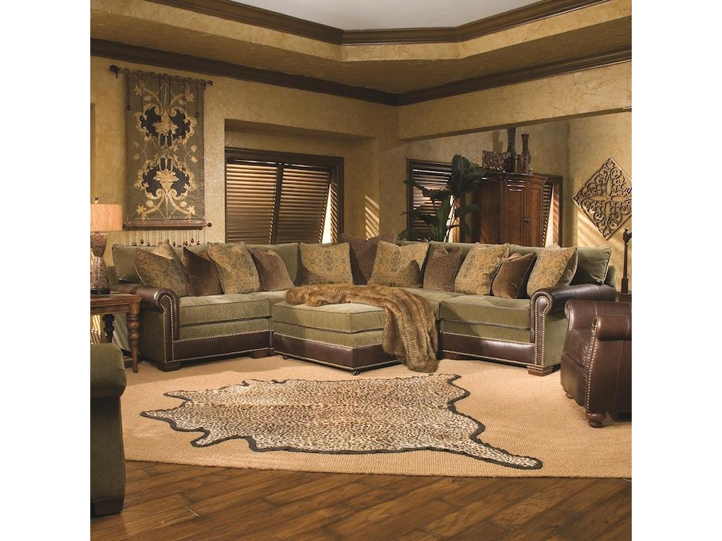 Huntington House 7107Sectional Sofa
