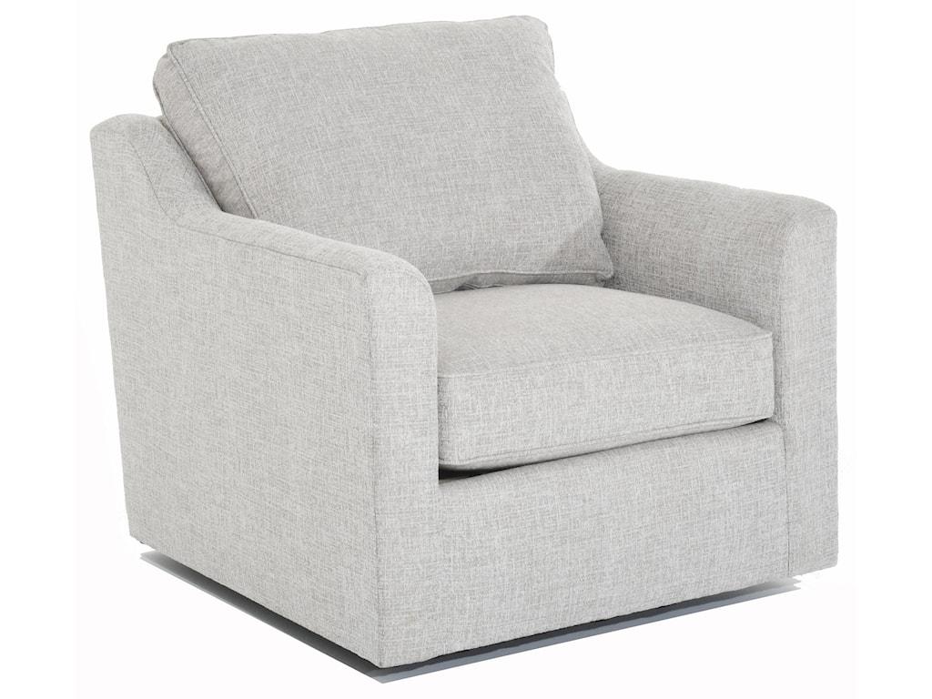 Huntington House SimplicityCustomizable Tux Arm Swivel Chair