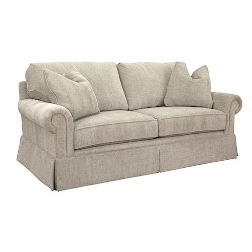 Geoffrey Alexander Solutions 2053 Customizable Two Cushion Sofa