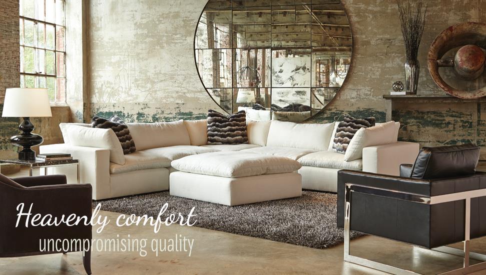 Huntington House XavierSectional Sofa Group