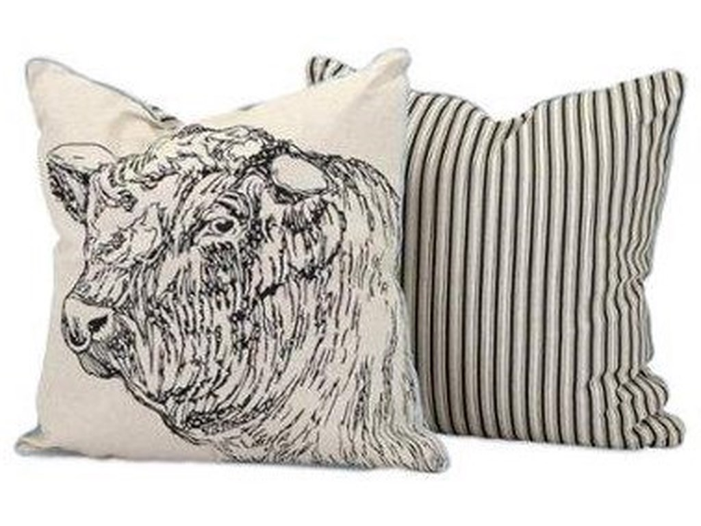 IMAX Worldwide Home Accent PillowsJackson Bull Pillow