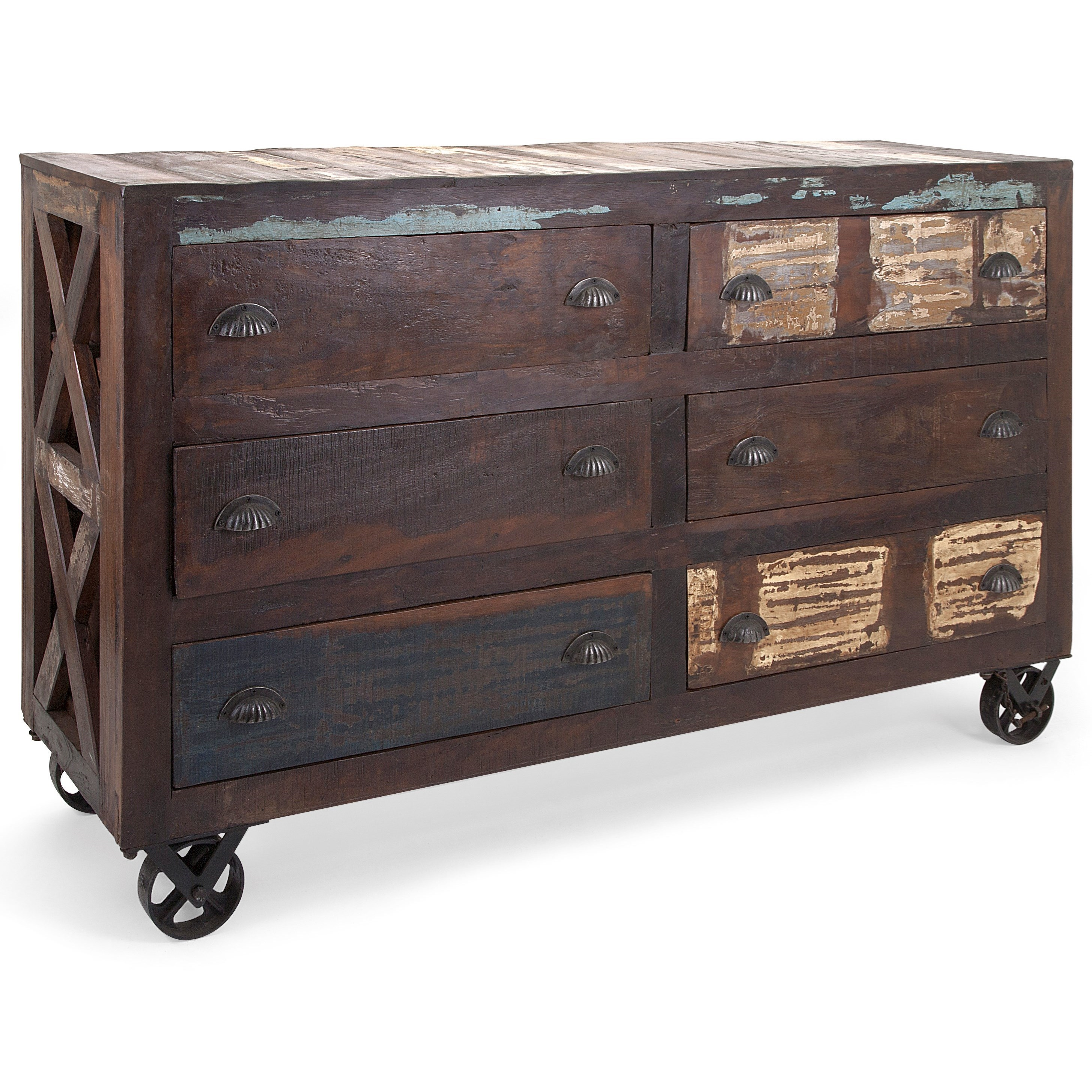 IMAX Worldwide Home Accent Tables And Cabinets Carron Reclaimed Wood Buffet