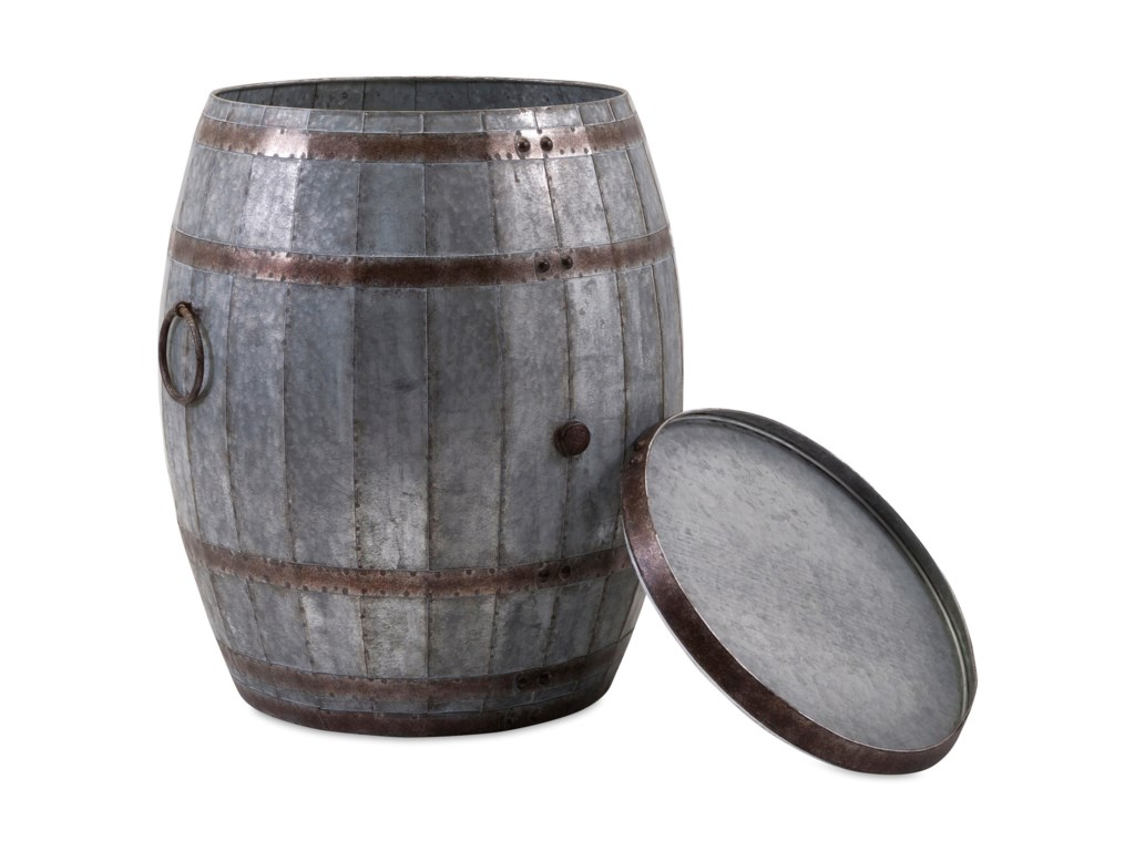 IMAX Worldwide Home Accent Tables and CabinetsVineyard Wine Barrel Storage Table
