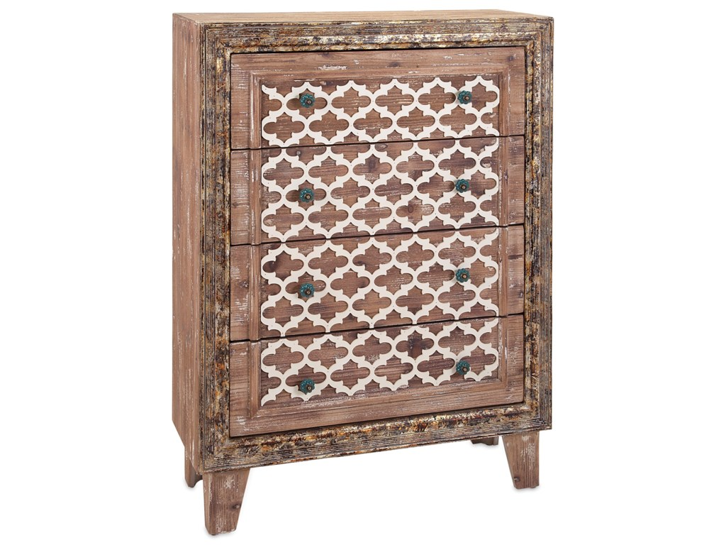 IMAX Worldwide Home Accent Tables and CabinetsLisha Wood Chest of Drawers