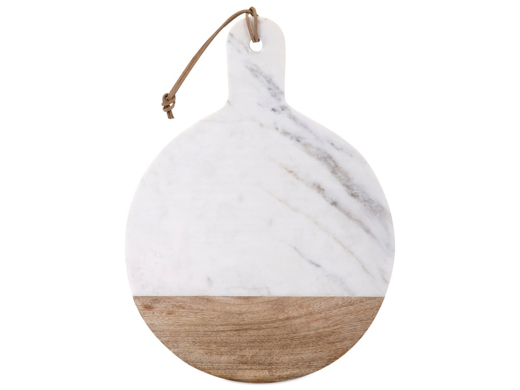 IMAX Worldwide Home AccessoriesPeyton Marble and Wood Cheese Board