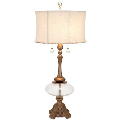 Imax worldwide home becky fletcher scarlett table lamp