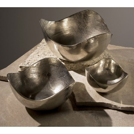 Lindi Aluminum Bowls - Set of 3