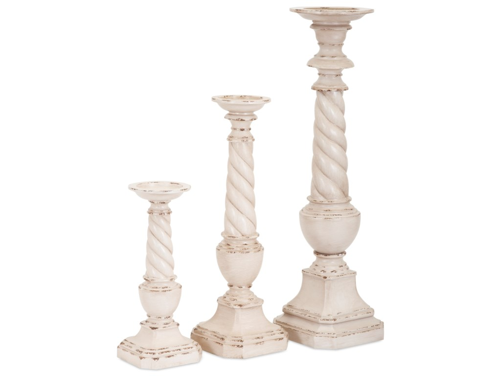 IMAX Worldwide Home Candle Holders and LanternsBrannon Candleholders - Set of 3
