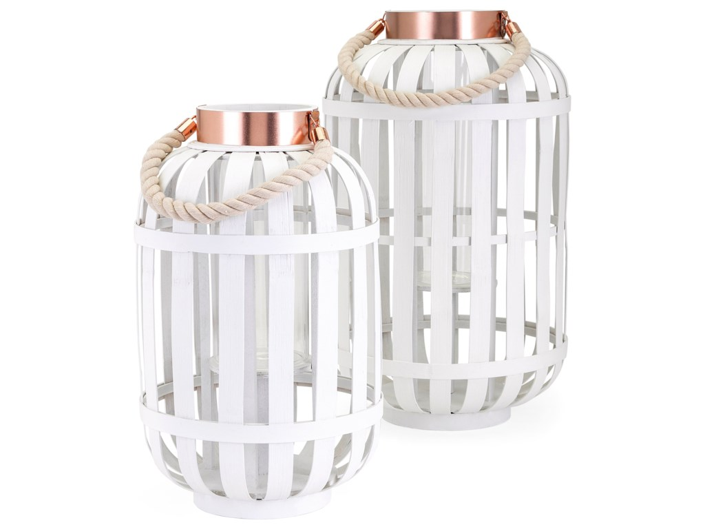 IMAX Worldwide Home Candle Holders and LanternsStephie Large Lantern