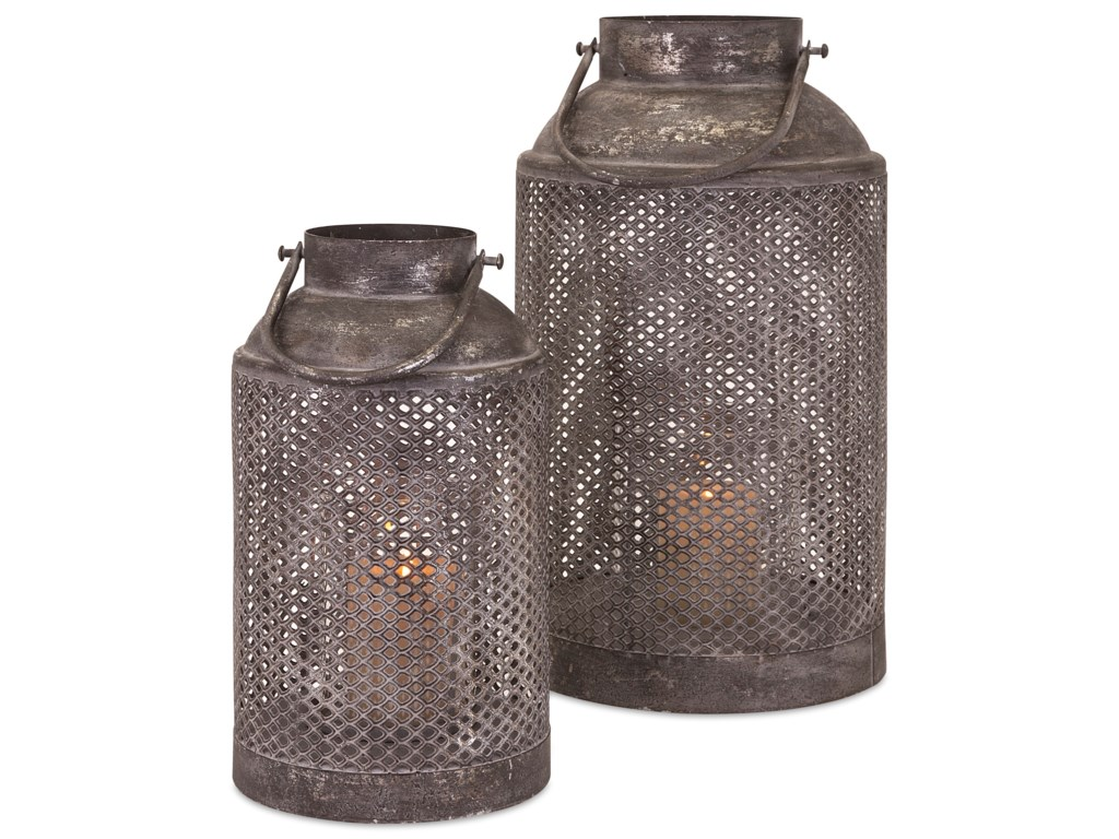 IMAX Worldwide Home Candle Holders and LanternsFarmer's Large Lantern