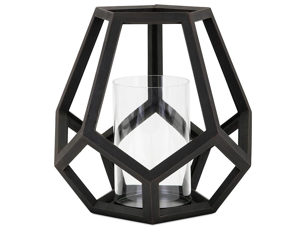 IMAX Worldwide Home Candle Holders and LanternsUbon Large Wood Lantern
