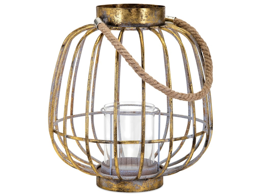 IMAX Worldwide Home Candle Holders and LanternsReko Short Lantern
