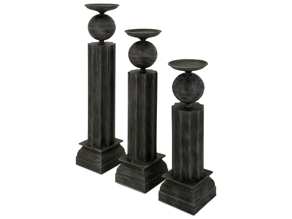 IMAX Worldwide Home Candle Holders and LanternsClarimond Large Metal Candle Stand
