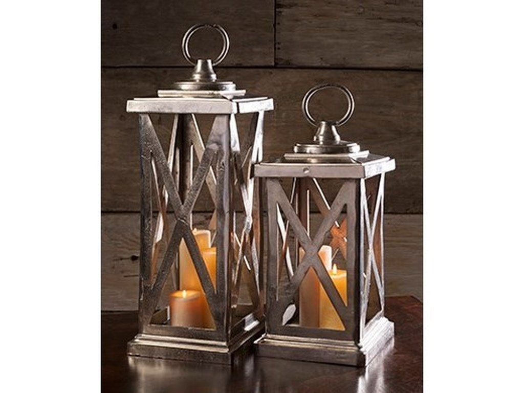 IMAX Worldwide Home Candle Holders and LanternsKeira Large Aluminum Lantern